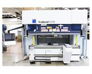 Trumpf TruBend 5170 187 T x 10' 11-Axis CNC Press Brake