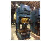 165 TON KOMATSU GAP FRAME PRESS 7.87″ STROKE 17.72″ SHUT HEIGHT 3.94″ RAM A