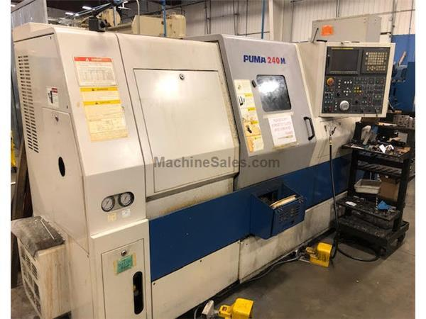 DAEWOO CNC TURNING CENTER PUMA 240MC