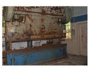 D & K Chicago 250 Ton Mechanical 12 ft Brake