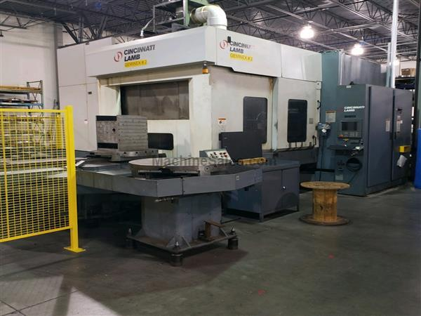 Cincinnati 5 Axis Mill/Turn Machining Center, Model Geminex H5-800XT