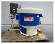 2011 ROYSON MODEL 5-CTV-1S VIBRATORY BOWL, 4 CUBIC FOOT CAPACITY, LOW HOURS