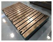 """48"""" X 84"""" X 6"""" THICK T-SLOTTED BOLSTER PLATE"""