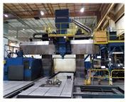 Ingersoll CNC Planer Mill w/Fanuc 15MB CNC Control, 100 Tool Capacity ATC