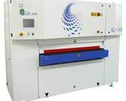 Gecam # GT-13S , linear steel wide belt deburring machine, 2013, #10660