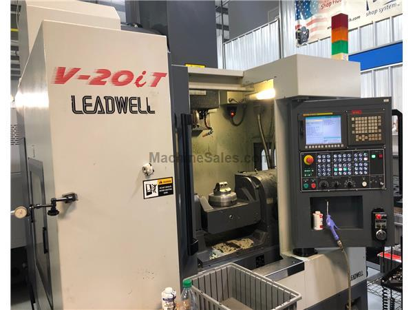 Leadwell Leadwell V-20iT  5 Axis Vertical Machining Center (2011 - 2012)