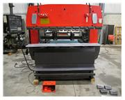 "AMADA MODEL RG-50 UPACTING HYDRAULIC CNC PRESS BRAKE,  82"" X 55 TON"