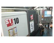 HAAS ST-10 CNC 2-AXIS TURNING CENTER LATHE NEW 2013
