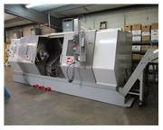 Haas SL-40LB, 7″ bore, 18″ chuck, 55 HP, 89″ cc, 40″ swing, 89″ CC, 2007