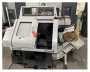 "Cubic Machinery # GT-MINI-PLUS , CNC lathe, gang tool, 1"" bar, parts catcher, chip co"
