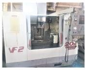 HAAS VF-2D 3-AXIS CNC VERTICAL MACHINING CENTER, 15,000 rpm, New 2001