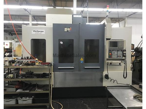 2013 Akira Seiki V5.5 XP CNC Vertical Machining Center