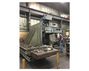 "5"" GIDDINGS & LEWIS PC 50 HORIZONTAL TABLE TYPE CNC BORING MILL"
