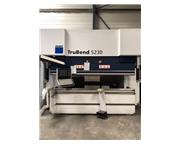 Trumpf TruBend 5230 253 Ton x 10' 8-Axis CNC Hydraulic Press Brake