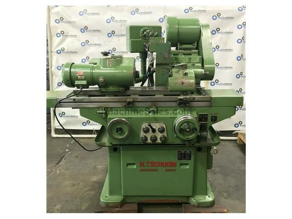 TSCHUDIN HTG-400 SWISS PRECISION OD CYLINDRICAL GRINDER