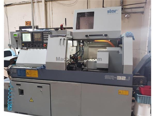 STAR, SR32J, WITH BARLOADER, FANUC 18iTB CNTRL, NEW: 2007