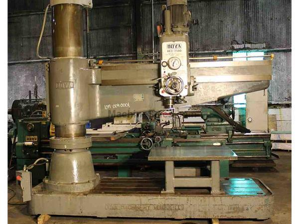 "8' x 19"" OOYA MODEL RE3-2500 RADIAL ARM DRILL PRESS"