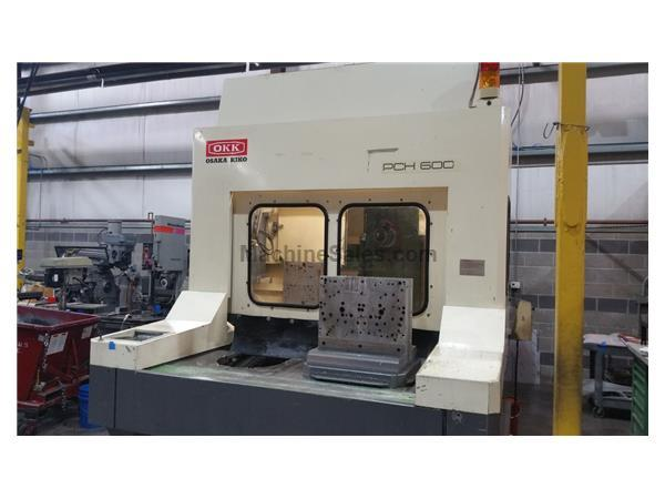 OKK PCH 600 Horizontal Machining Center