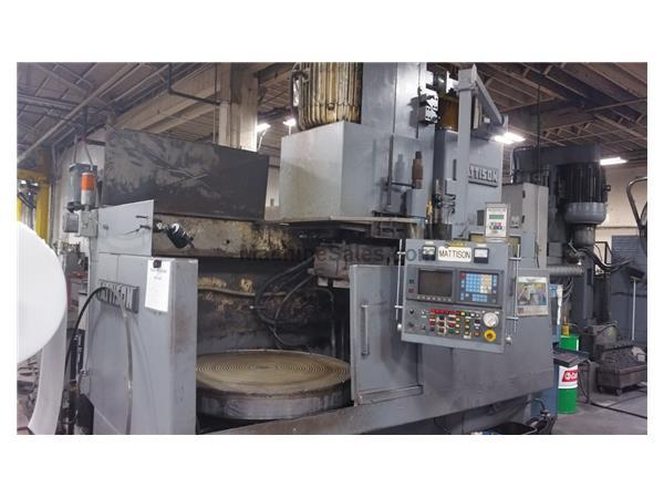 Mattison Rotary Table Surface Grinder - Model 42 - 48E (Portland, OR)