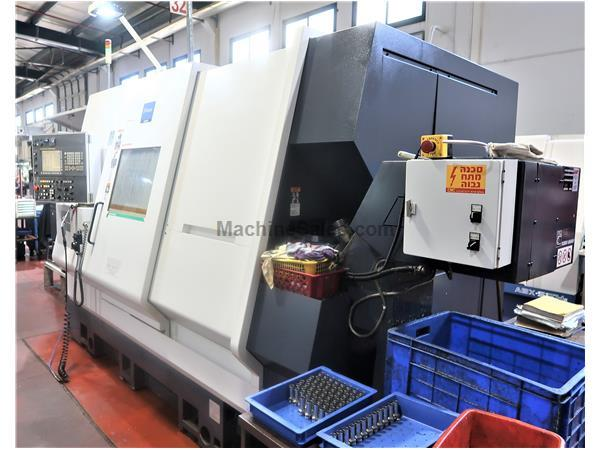 MIYANO MODEL ABX-64THY TWIN SPINDLE TRIPLE TURRET MULTI-AXIS CNC PRECISION