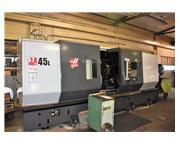 "HAAS ST 45L 34.5"" x 80"" CNC Turning Center"