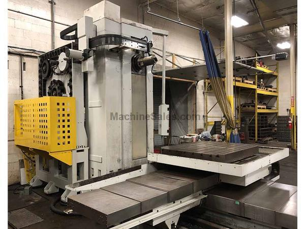 "4"" MICROCUT CNC TABLE TYPE HORIZONTAL BORING MILLING & DRILLING MA"
