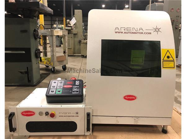PANNIER BENCH TOP FIBER LASER ENGRAVING SYSTEM, ARENA ENCLOSURE,33 WATT