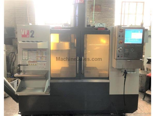 HAAS VF-2, 2011, 4TH AXIS READY, 8100 RPM, 40 TAPER, 20 ATC
