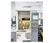 OKUMA MILLAC 33TU, 2010, 5-AXIS MACHINING & VERTICAL TURNING