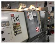 HAAS SL-20 3-AXIS CNC TURNING CENTER WITH LIVE TOOLING AND C-AXIS NEW 2004
