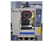"Miyano TSV-35L CNC Drill and Tap Center, Fanuc O-M CNC Control, 24""x15"
