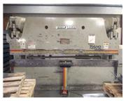 250 TON X 12' ACCURPRESS 725012 PRESS BRAKE W/ETS BACK GAUGE MFG:2003