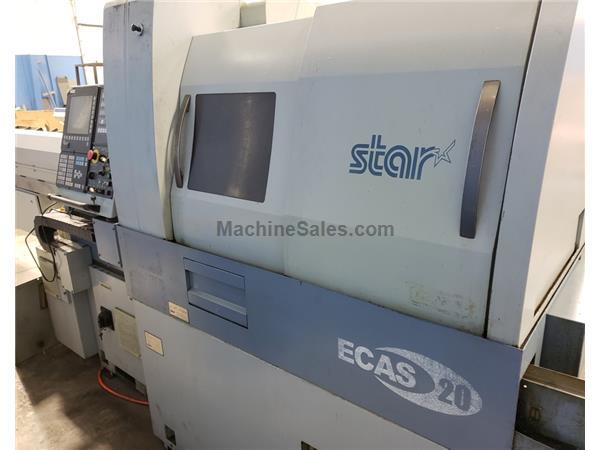 20MM STAR ECAS-20 CNC SWISS TYPE SLIDING HEADSTOCK TURNING