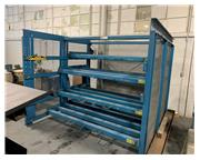 Storage Rack System, Steel Storage Systems #4H-48x96R ASF, roll out matererial storage rac