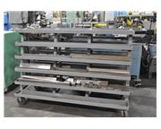 CART WITH ASSORTED PRESS BRAKE DIES