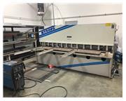 "2000 Wysong 10' x 1/4"" Hydraulic Shear, Programmable Gauges"