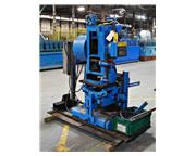 18 Ton x 2″ TISHKEN #CO-T-6A Tilting Cut-Off Press