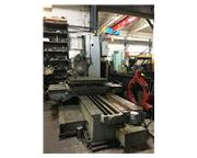 """3.15"""" TOS MODEL WH80 TABLE TYPE HORIZONTAL BORING MILL WITH BUILT-IN ROTARY TABLE"""