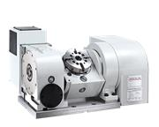 "NEW 4.92"" DETRON MODEL GF-125P TILTING ROTARY TABLE"