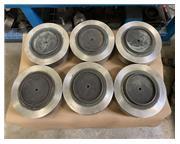 """(6) 7"""" Surftran Thermal Deburring TEM Lower Closures"""
