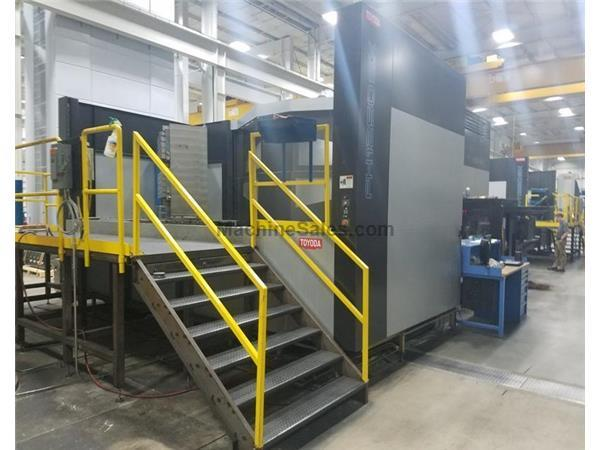 "2010 Toyoda FH-1250SX, Fanuc 310i-Model A Controls, 6K RPM, 49"" x 49"" Pallets, C"