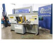 """22"""" x 22"""" Hyd-Mech # H-22A , 20 HP, 40-300 SFM, Automatic PLC, hydraulic positiv"""