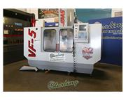 "Haas # VF-5/40 , 24 automatic tool changer, 50"" X, 26"" Y, 25"" Z, 8100 RPM,"