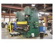 600 Ton, Pacific # 600-12 , hydraulic, 12' OA, auto gauge G-24 single axis CNC BG, #C5141
