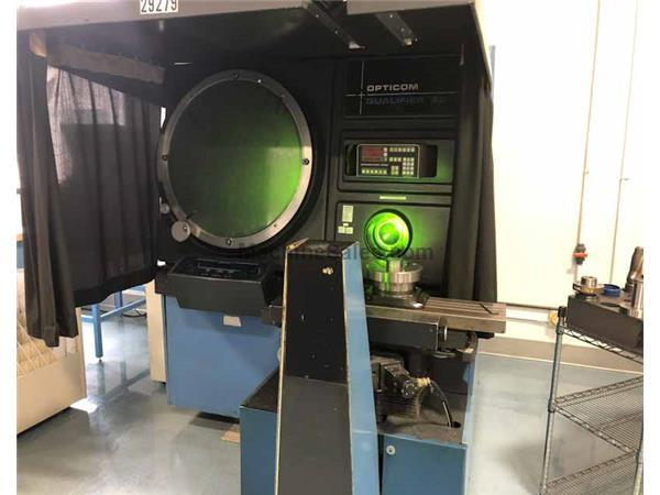 "30"" O.G.P. MODEL OQ30 CONTOUR PROJECTION OPTICAL COMPARATOR"