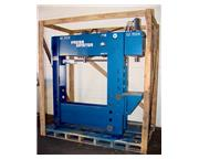 "50 Ton 12"" Stroke Pressmaster HFBP-50/12 H-FRAME HYDRAULIC PRESS, w/12 Ton C-Frame Br"