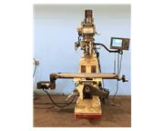 """30"""" X Axis 3HP Spindle Acer Acu-Rite Mill Power Cntrl 2-Axis, 2017 Eisen Head CNC VER"""