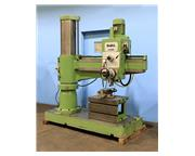 "4' Arm Lth 12"" Col Dia DoAll D-50100 RADIAL DRILL, 5 MT, Power Elevation, 5 HP, T-Slo"