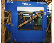 "50 Ton 12"" Stroke Pressmaster HFBP-50/12-MWH H-FRAME HYDRAULIC PRESS, w/12 Ton Broach"