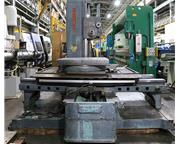 """3"""" Spindle 60"""" X Axis Giddings  Lewis 300T HORIZONTAL BORING MILL, #5MT, Hard Be"""